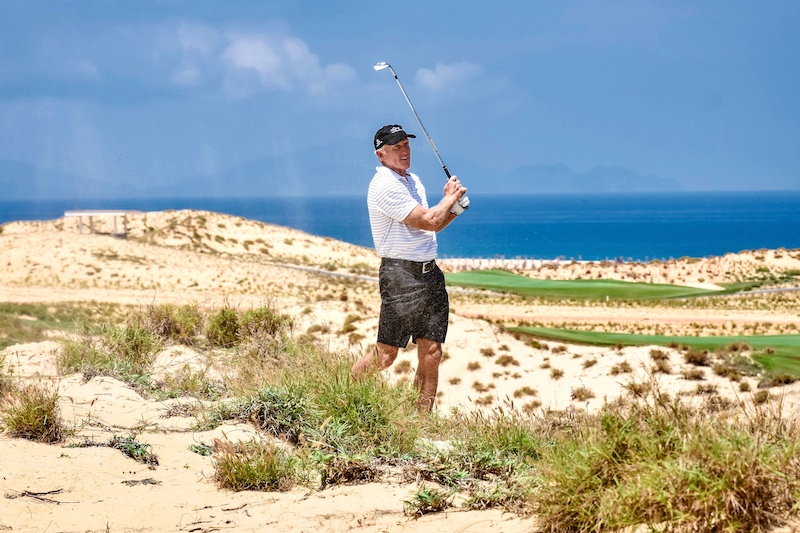 KN Golf Links Cam Ranh Gets Shark's Seal of Approval