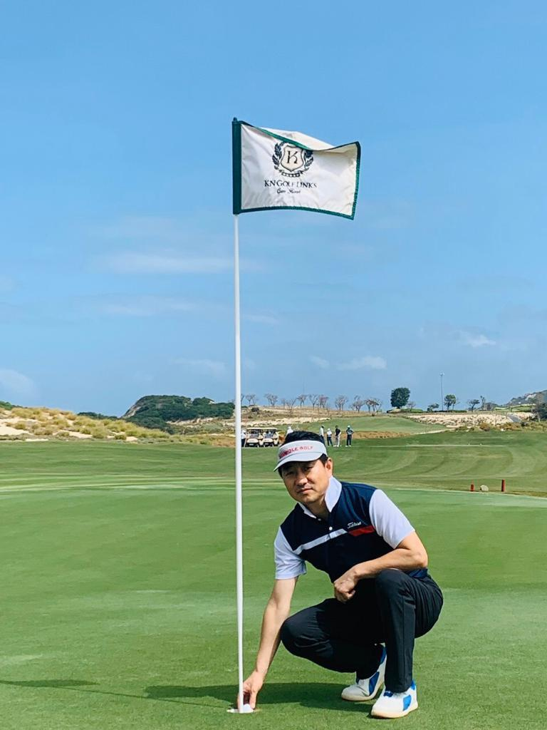 15th Dec 2019, Links Course, Hole #04, 144y - Mr. Kim Gern Ho