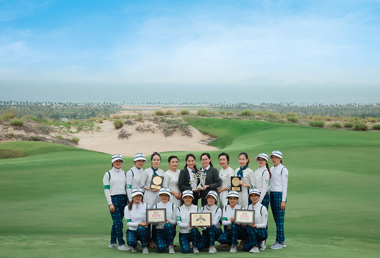 Cam Ranh, Vietnam: KN Golf Links has celebrated its first anniversary in style
