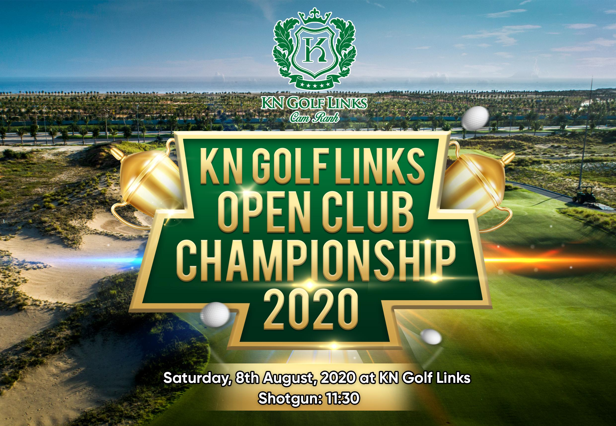 KN Golf Links Open Club Championship Tournament 08 August 2020