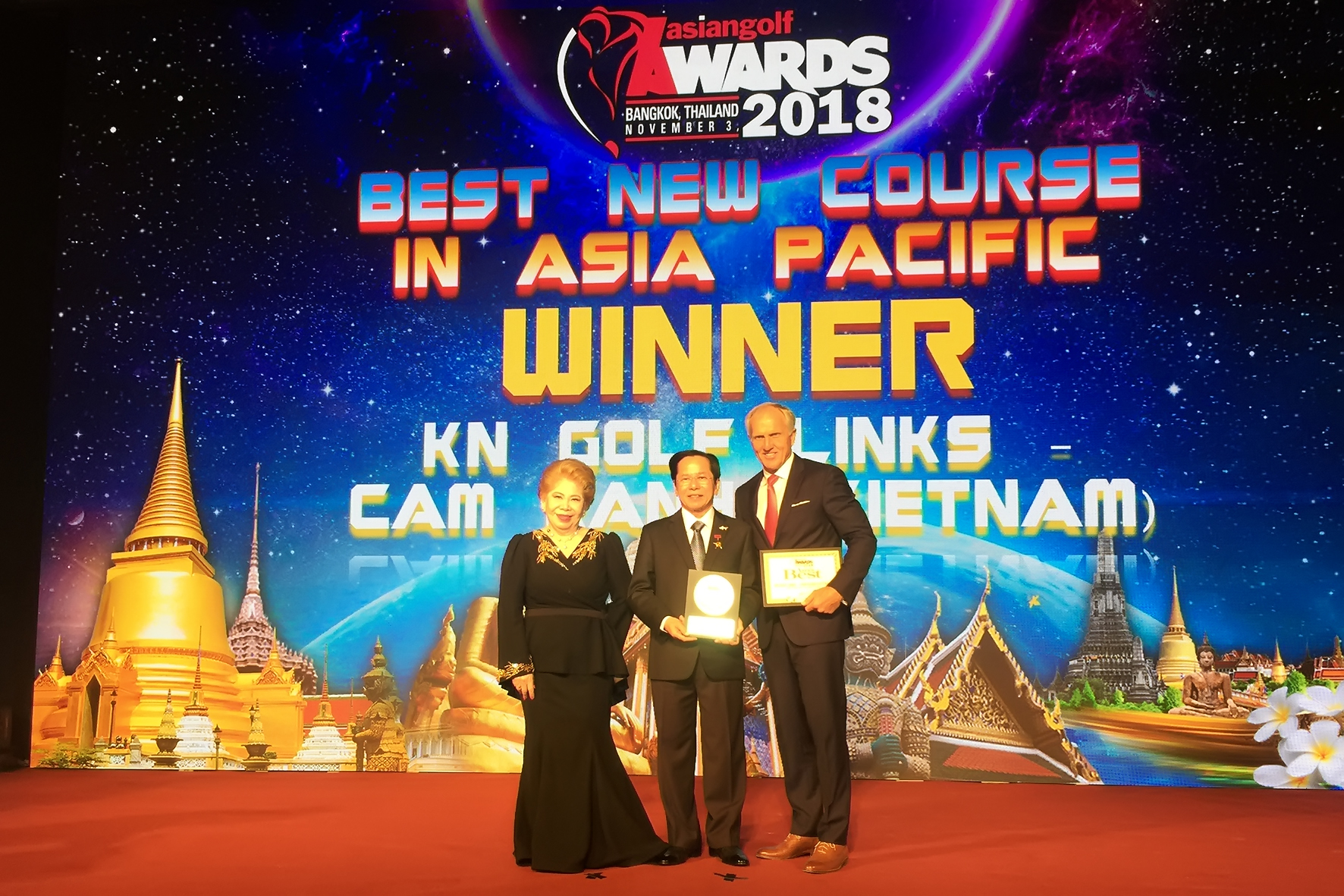 "KN Golf Links - Cam Ranh Named ""Best New Course in Asia Pacific in 2018"""
