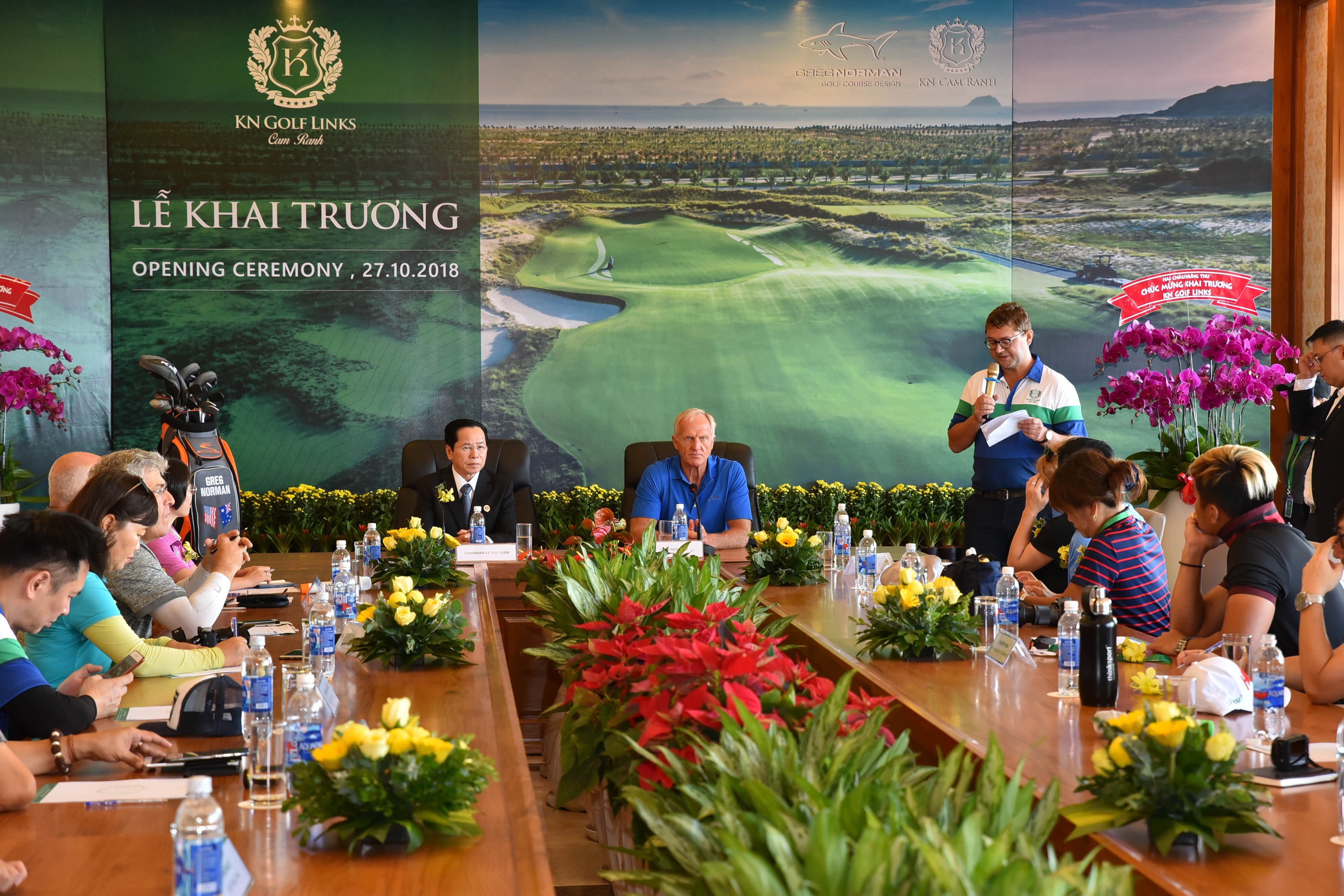 Greg Norman's Third Course in Vietnam Opens for Play